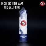 Aisu E-Liquid | Blue Raspberry | 50ml Shortfill | 0mg (Includes 1 x 18mg ZAP! Nic Salt Shot)