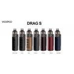 Voopoo | DRAG S 60W Pod Kit | 2ml | 2500mAh | **NEW COLOURS**