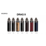 Voopoo | DRAG X 80W Pod Kit | 2ml | Single 18650 | **NEW COLOURS**