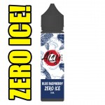 Aisu Zero Ice | Blue Raspberry | 50ml Shortfill | 0mg (Includes 1 x 18mg ZAP! Nic Salt Shot)