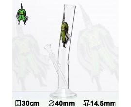 30cm Glass Cannaman Waterpipe - GB1395