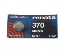 Renata Batteries - 370 (Single Pack) - RWB370