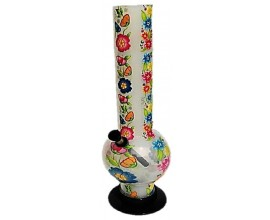 30cm Acrylic Flower Waterpipe - ABFLOWER