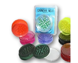 No.1 60mm Acrylic Non-Magnetic Grinders - Box of 12 - AG60NM