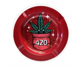 Smoke Arsenal Ash Tray | 002 420 Power | 13.5cm Diameter