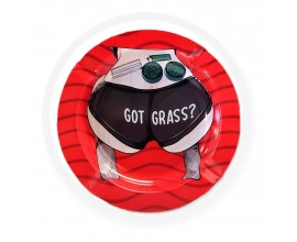 Smoke Arsenal Ash Tray | 006 Got Grass | 13.5cm Diameter