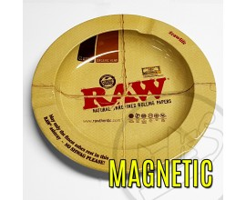 "RAW - Metal Ash Tray (5.5"" Diameter) - Magnetic - RAWASH-MAG"