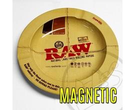 """RAW - Metal Ash Tray (5.5"""" Diameter) - Magnetic - RAWASH-MAG"""