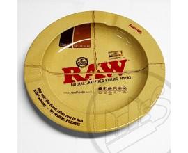 "RAW - Metal Ash Tray (5.5"" Diameter) - Regular - RAWASH-REG"