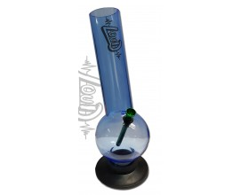 "30cm Acrylic ""Loud"" Bubble Lean Waterpipe - AWP525"
