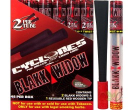 Cyclones - Blakk Widow Tobacco Free Blunts (24 x 2) - CYCBW