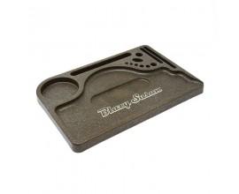 "Blazy Susan | Hemp Plastic Rolling Tray | 11.75"" x 8"""