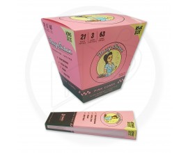 Blazy Susan | Kingsize Pink Pre-Rolled Cones | 3 Cones Per Pack | 21 Packs Per Box