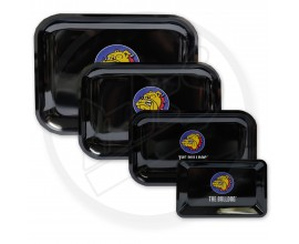 Bulldog | Metal Rolling Trays | SINGLE BULLDOG LOGO | Various Sizes