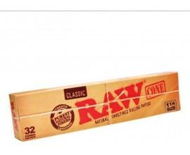 RAW - Classic 1 1/4 Cones 32 Pack - RAWC32-1.25