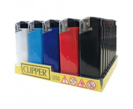 Clippers - Fit Electronic Lighters - Solid Colours - CLIPFITELEC-PLAIN
