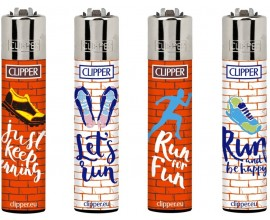 Clipper Lighters | Running | Tray of 40 | CLIPRUNNING