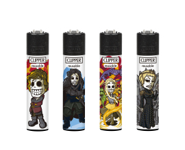 Clipper Lighters | Medieval | Tray of 40 | CLIPMEDIEVAL