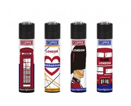 Clipper Lighters | London 13 | Tray of 40 | CLIPLOND13