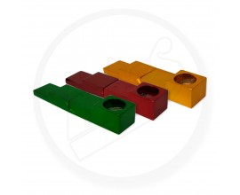 Magnetic Metal Folding Pipe | 1 x Single | Mixed Colours | CLICK1