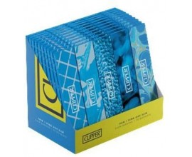 Clipper | Blue Kingsize Rolling Papers | 50 Booklets | 33 Leaves Per Booklet | CLIPBLUEKSS