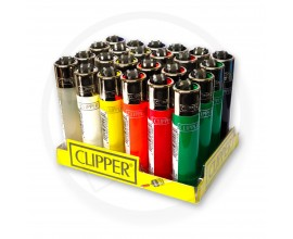 Clipper Lighters | Plain Colours | Tray of 24 | CLIPPLAIN-24PK