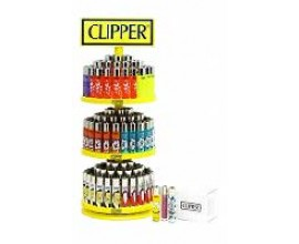 Clipper - Carousel 3 Tier Stand - 144 Lighters (+12 free) - CLIPROUND