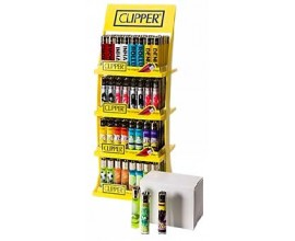 Clipper - Square 4 Tier Stand - 160 Lighters (+20 free) - CLIPSQUARE