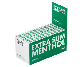 Clipper - Extra Slim Menthol Filters (20) - CLIPMXSLIM20