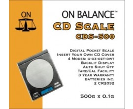 On Balance CDS-500 500g x 0.1g Digital Scales - DS18