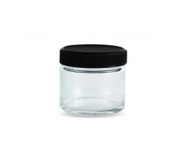 Glass Storage Jars | 2oz Child Resistant Storage Jar | 1 x Single