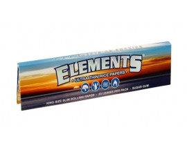 Elements - Kingsize Slim Rice Papers (50) - ELEKS