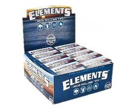 Elements - Wide Tips (50) - ELERWIDE