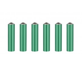 Clipper Lighters | Micro Metal Covers | ELECTRIC GREEN | Tray of 30 | CLIPMMC-ELEGRN