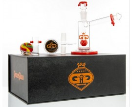 15cm Grace Glass Sidecar Bubbler - Gift Set - GB631