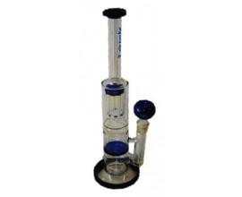 33cm Glass Percolator Waterpipe - Tornado Disc - GB8007