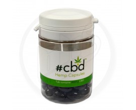 #CBD - CBD Hemp Capsules - 10mg / Capsule - Pot of 30
