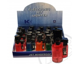 K2 - Electronic Jet Lighters - Tray of 20