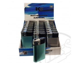 K2 - Maxx Windproof Electronic Jet Lighters - Tray of 24