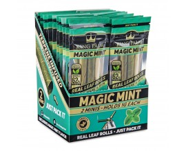 King Palm | Flavoured Rolls | Magic Mint | 2 x MINI Rolls Per Pack | 1 x Single Pack