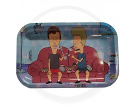 Smoke Arsenal Rolling Tray - LARGE (28cm x 18cm) - BEAVIS & BUTTHEAD