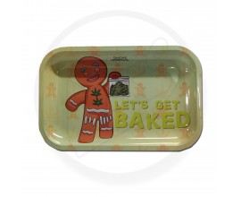 Smoke Arsenal Rolling Tray - LARGE (28cm x 18cm) - LET'S GET BAKED