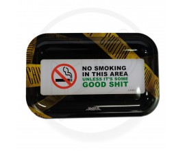 Smoke Arsenal Rolling Tray - LARGE (28cm x 18cm) - GOOD SHIT