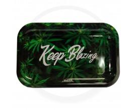 Smoke Arsenal Rolling Tray - LARGE (28cm x 18cm) - KEEP BLAZING