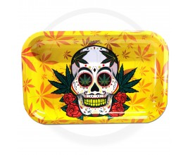 Smoke Arsenal Rolling Tray - LARGE (28cm x 18cm) - SKULL & STONED