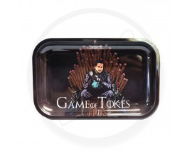 Smoke Arsenal Rolling Tray - LARGE (28cm x 18cm) - GAME OF TOKES