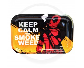 Smoke Arsenal Rolling Tray - LARGE (28cm x 18cm) - DEADLY CALM