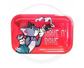 Smoke Arsenal Rolling Tray - LARGE (28cm x 18cm) - WAKED N BAKED