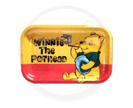 Smoke Arsenal Rolling Tray - LARGE (28cm x 18cm) - WINNIE THE POTHEAD