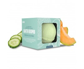 GRN CBD | 35mg Broad Spectrum CBD Bath Bomb | 1 x Single | MELON & CUCUMBER